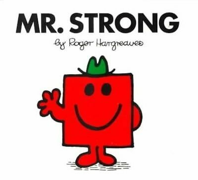 NEW (26)  MR STRONG  ( BUY 5 GET 1 FREE book )  Little Miss Mr Men OOS