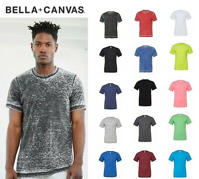 Canvas Unisex Poly-Cotton T-Shirt PolyCotton Mens Tshirt BE119 Neck Crew Sleeves