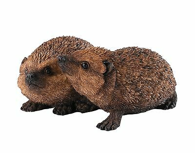 Igel Country Artists Hedgehog Hoglets Tierbaby Sammelfigur Keith Sherwin CA00432
