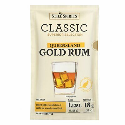 Free Shipping Still Spirits Classic Queensland Gold Rum home brew spirit essence