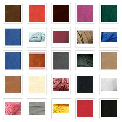 24 Colors Available Stretch Micro Suede Dress Skirts Clothing Fabric