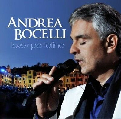CD + DVD Set Love In Portofino - Andrea Bocelli  Sealed New 2013
