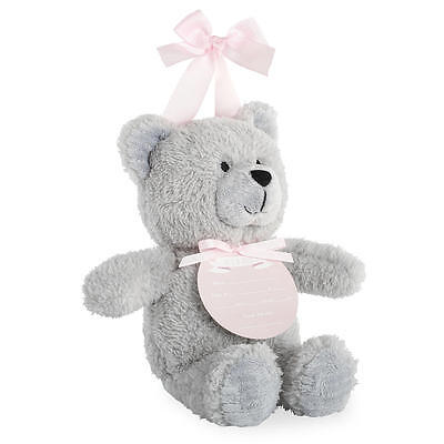 """New Koala Baby """"It's a Girl"""" Birth Announcement Teddy Bear with Hanging Ribbon"""