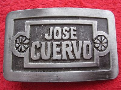 Vintage 1977 Jose Cuervo Belt Buckle