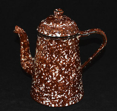 Stangl Pottery Tea Coffee Pot Town & Country Brown