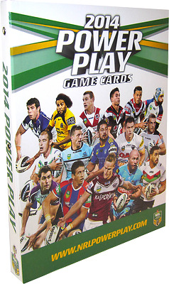 Card Albums--Rugby League - 2014 Power Play Album