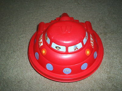 VINTAGE RARE McDONALDS HAPPY MEAL FLYING SAUCER CONTAINER 1982