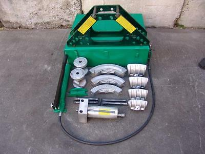 GREENLEE 777 PIPE BENDER 1 1/4 to 4 inch WITH PUMP WORKS FINE  3/9/17