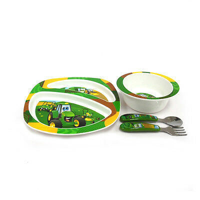 John Deere 4 Piece Feeding Set