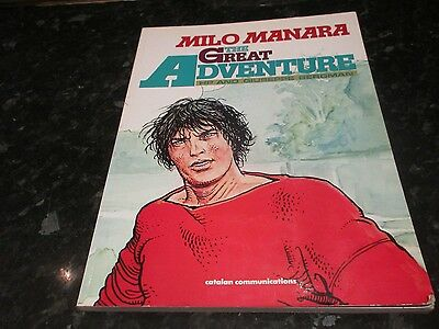 milo manara the greatest adventure english language paperback graphic novel