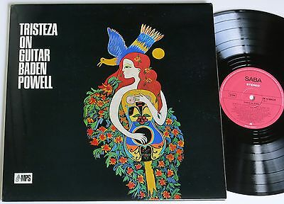 Baden Powell Milton Banana Tristeza On Guitar Saba Brasil / Bossa Jazz Lp Mint-