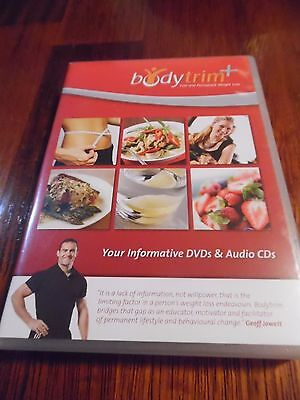 BODYTRIM Informative DVD'S x 6 Audio CD'S x 2 Fast & Permanent weight loss