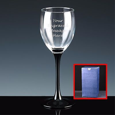 Personalised Engraved White Wine Glass, Mother's Day, Lovely Gift For Mum
