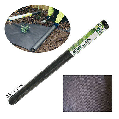 Weed Control Fabric Strong Membrane Ground Cover Sheet Driveway Garden Landscape