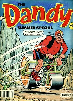 •.•  DANDY SUMMER SPECIAL • Issue 30 • 1992 • DC Thomson