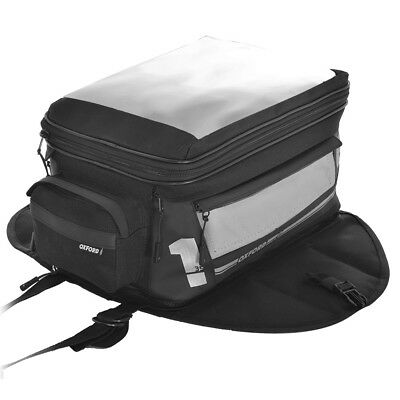 Oxford F1 Motorcycle Luggage - Magnetic Tank Bag - Large 35L (OL442)