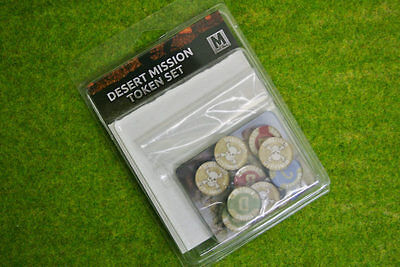 Desert Mission Token Set Flames of War TK101
