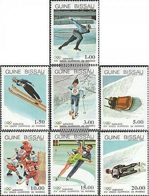 Guinea-Bissau 709-715 (complete.issue.) unmounted mint / never hinged 1983 Olymp