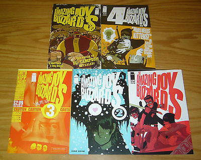 Amazing Joy Buzzards vol. 2 #1-5 VF/NM complete series  image comics set lot 3 4
