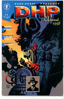|•.•| DARK HORSE PRESENTS ANNUAL • 1998 • Hellboy • 1st Buffy The Vampire Slayer