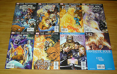 Fantastic Four #542-553 VF/NM complete run by dwayne mcduffie & michael turner