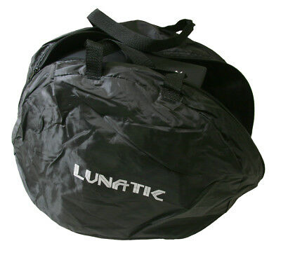 24 Lunatic Deluxe Helmet Bags - Brand New - Soft Lining - Black