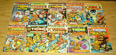 Marvel Two-In-One #1-100 VF complete series + annual 1-7 2 54 61 thing thanos