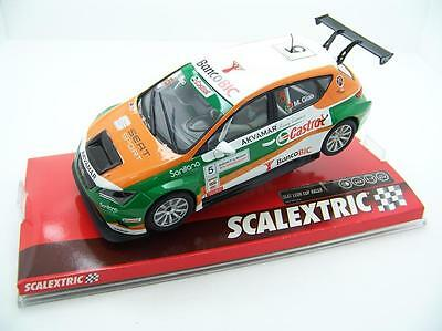 Scalextric A10205S300 Seat Leon Aurocup Castrol Nuevo New 1/32