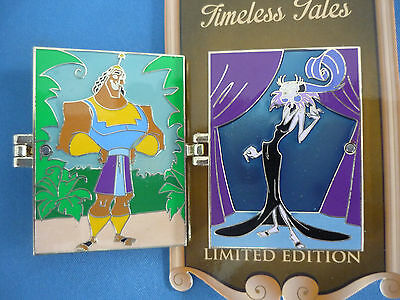 EMPERORS NEW GROOVE  Disney Pin 2016 TIMELESS TALES  Limited Edition NEW on card