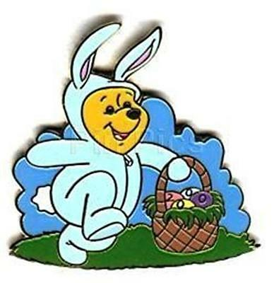 WINNIE THE POOH As The EASTER BUNNY 2000 LE WDW Disney PIN