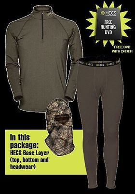 NEW IN BOX 2017 3 piece Hecs Base Layer Suit Free FAST SHIPPING PICK ANY SIZE