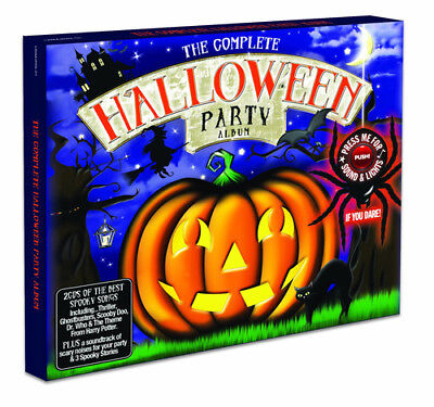 Various Artists : The Complete Halloween Party Album CD (2010) ***NEW***
