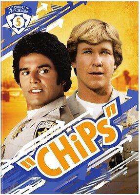 Chips: The Complete Fifth Season - 5 DISC SET (2017, REGION 1 DVD New)