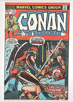 Conan the Barbarian #23 (1970 Series) 1st Red Sonja Marvel 1973 NM-