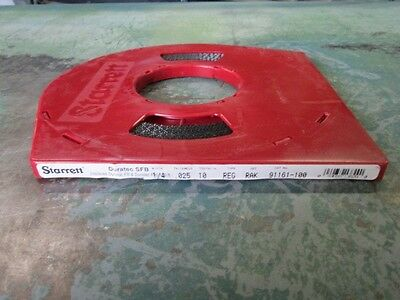 "Starrett 13829 Duratec Fb Band Saw Blade 100' Coil 1/4"" 10 Tpi New/unused"