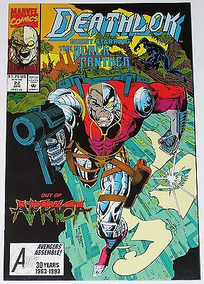 Deathlok #22 from April 1993 VF to VF/NM Black Panther