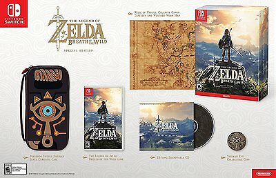 The Legend of Zelda: Breath of the Wild - Special Edition [Nintendo Switch] NEW