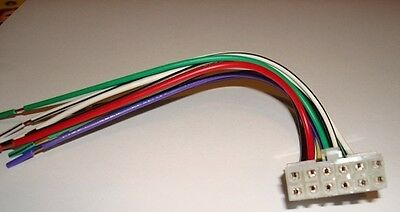 DUAL Stereo CD 12 pin Wire Harness XD230m dual stereo cd 12 pin wire harness xd230m xr4115 xd1222 xd1225