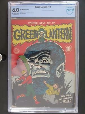 Green Lantern #10 - CBCS 6.0 FN -DC 1943- 1st App & ORIGIN of Vandal Savage!!!