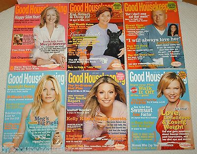 11 Issues of Good Housekeeping Magazine * 2003 *