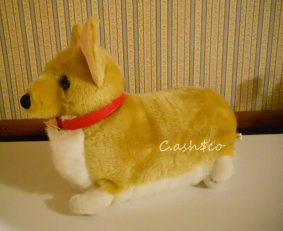 "Cowboy Bebop Ein Welsh Corgi puppy dog plush stuffed 12"" long Sunrise"