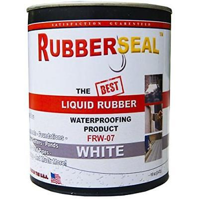 Rubberseal Liquid Rubber Waterproofing and Protective Coating -- Roll On WHITE