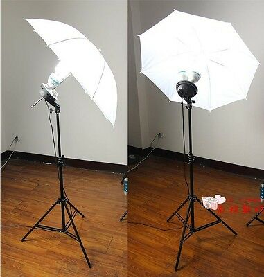33 inch Pro Studio Photography Light Photo Video Translucent White Soft Umbrella