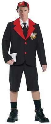Schoolboy Krankies Angus Young AC/DC Fancy Dress Outfit