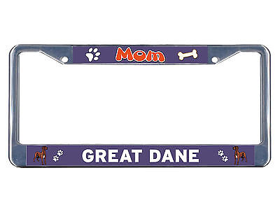 Auto 465 Chrome License Plate Frame Mastiff Everything Else Is Just A Dog