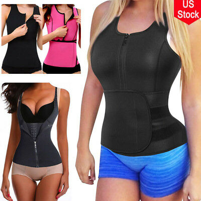 Sauna Suit Shapers Neoprene Slimming Body Trainer Waist Control Vest Sport Belt