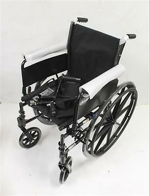 Drive Medical Cruiser III Light Weight Wheelchair with Flip Back Arms Black