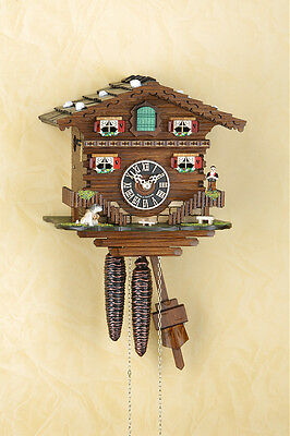 Analog Cuckoo Clock with 1-day chain-driven movement,Mechanical Cuckoo-Clock