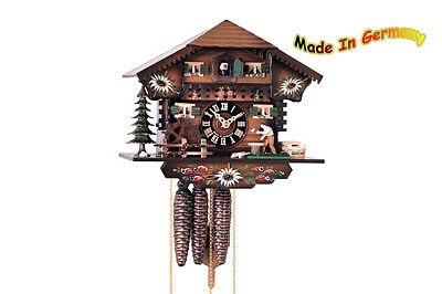 Mech. Cuckoo Clock - 1-day - Movement M. Music - 22cm - Hrs Ed. 13 Home
