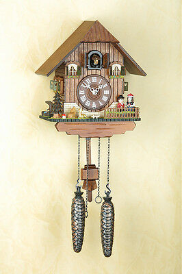 Beautiful Black  forest Cuckoo clock, Cuckoo Clock, Made in Germany 428Q